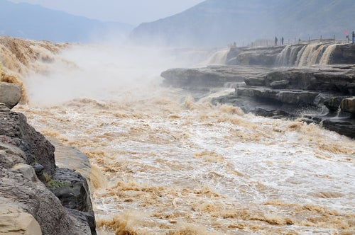 Cataratas Hukou en China