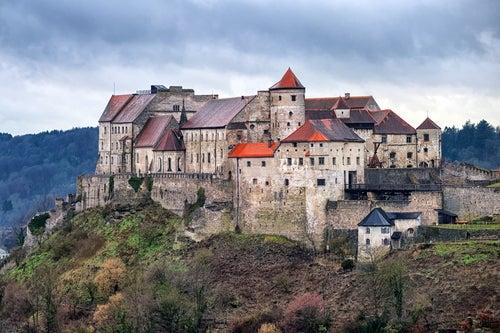 El castillo de Burghausen, el más largo de Europa