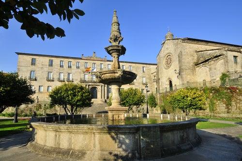 Plaza de la Herrería en Pontevedra