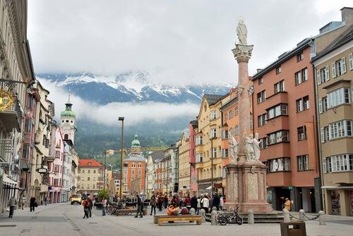 Viajamos a Innsbruck, la capital del Tirol