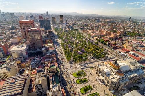 Ciudad de México, una urbe sorprendente