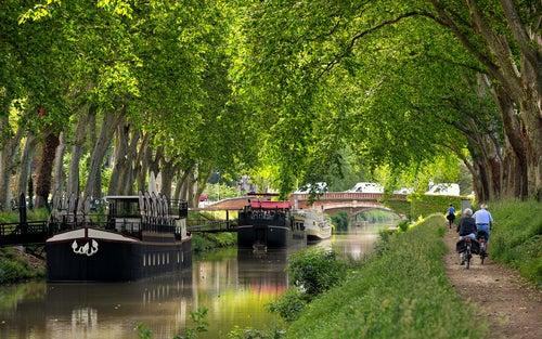 Canal de Midi en Toulouse