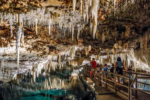 Las fantásticas Cuevas de Cristal en las Bermudas