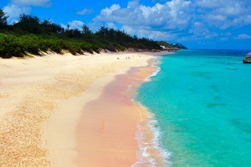 Playa en Bermudas