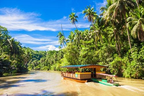 Río Loboc en Filipinas