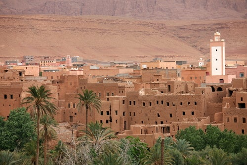 Valle -del-Dades en Marruecos