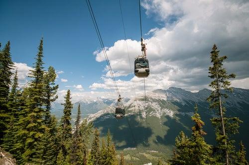 Teleférico de Banff en Canadá