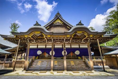 Santuario Ise en Japón