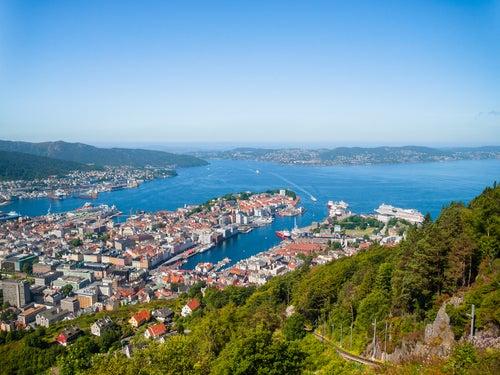 Monte Floyen en Bergen
