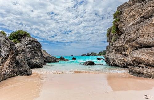Horseshoe Bay en Bermudas