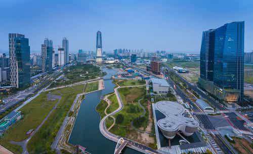 Incheon en Corea, ciudad moderna y cosmopolita