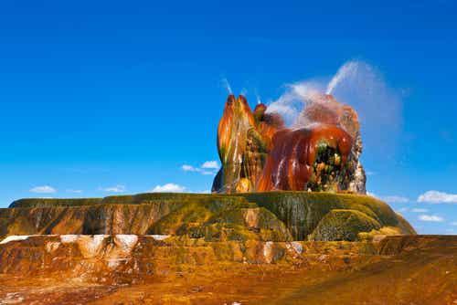 Geyser Fly en Nevada, un sorprendente error
