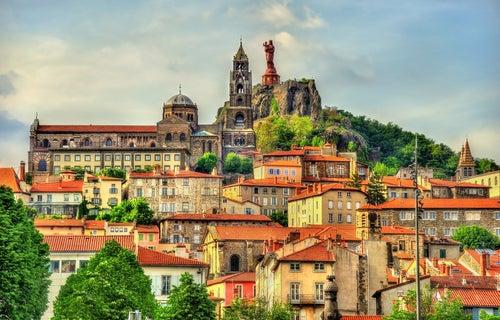 Le-Puy-en-Velay en Francia