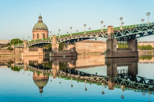 Puente Saint Pierre en Toulouse