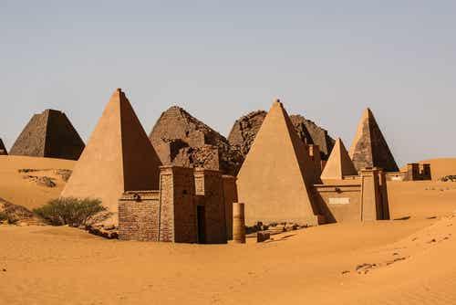 Descubrimos las impresionantes pirámides de Meroe