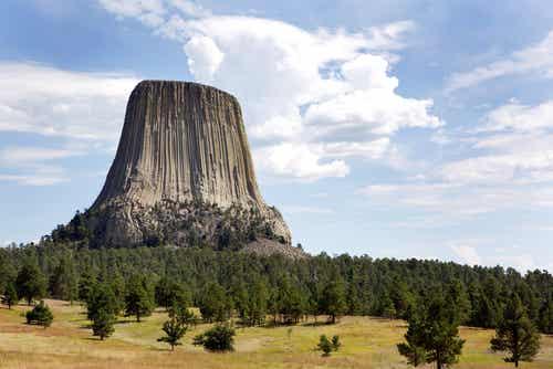 La Torre del Diablo en Wyoming: un monumento de película