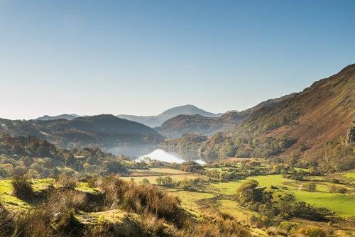 Valle Beddgellert en Gales