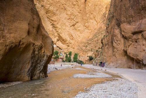 Garganta del Todra en Marruecos