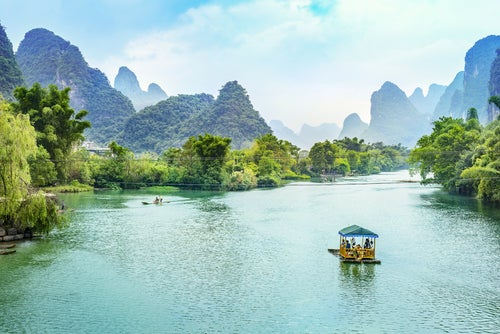 Río Li en Guilin