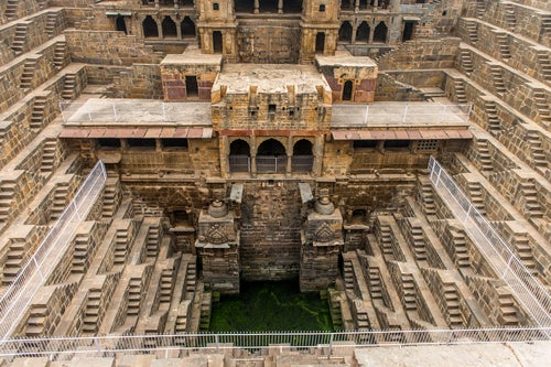 Escalera Chand Baori, India