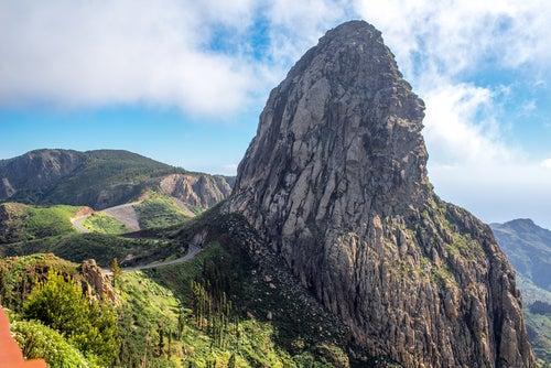 Roque Agando en La Gomera