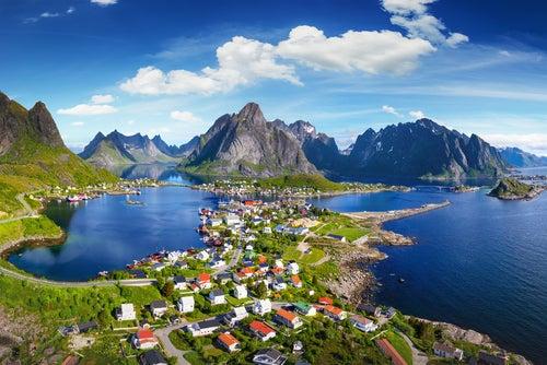 Reine en Noruega, un pueblo de cuento