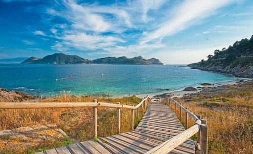 Islas Cíes en Galicia