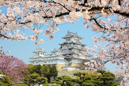 El castillo de Himeji, uno de los más bellos de Japón
