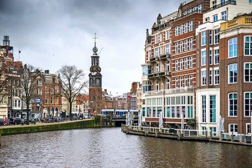 Barrio de Jordaam en Ámsterdam