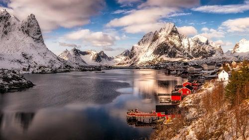 Reine en Noruega
