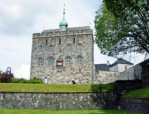 Fuerte Bergenhus en Bergen