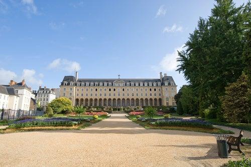 Palacio de Saint-George en Rennes