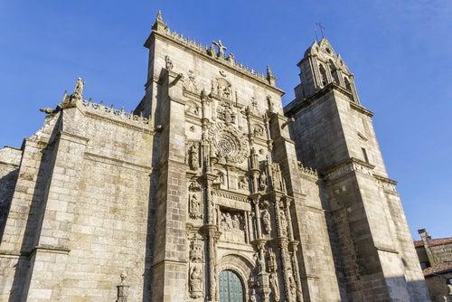Basílica de Santa María la Mayor en Pontevedra