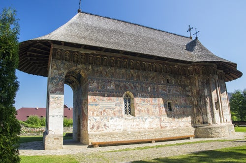 Monasterio de Humor en Bucovina