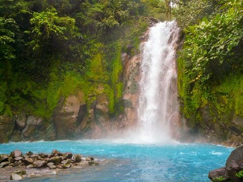 Río Celeste en el ParqueNacional del Volcán Tenorio