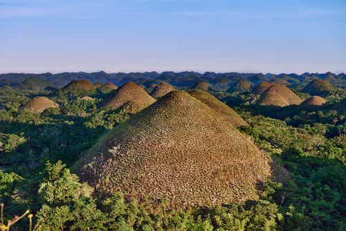 Las Colinas de Chocolate en Filipinas, un paisaje impactante
