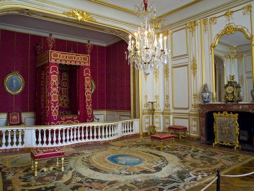 Interior del castillo de Chambord