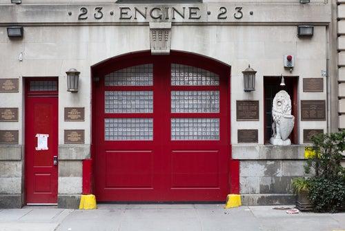 Estación de bomberos en Tribeca