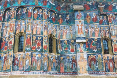 Iglesia de Sucevita en Bucovina