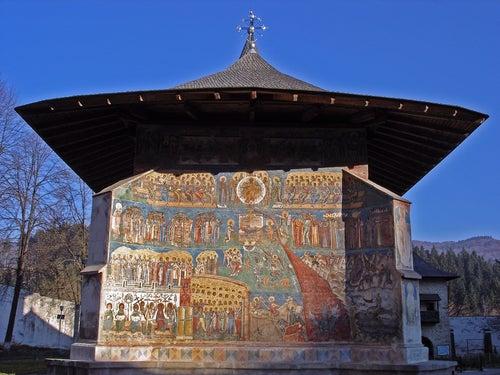Monasterio de Vuronet en Bucovina