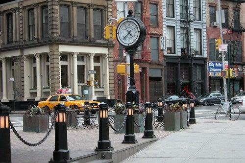 Paseamos por el barrio de Tribeca, en Nueva York