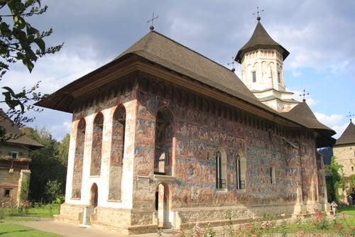 Monasterio Moldovita en Bucovita