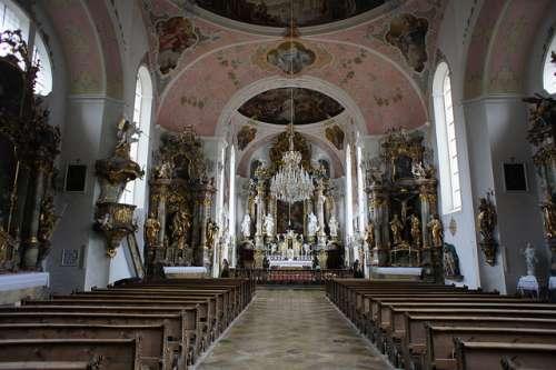 Iglesia de Oberammergau