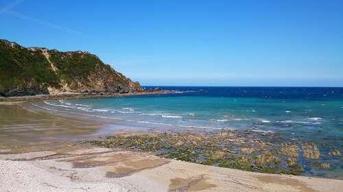 Playa Cadavedo en Asturias