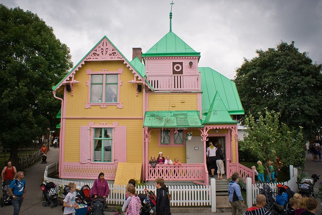 Villa Kunterbunt en Gotland