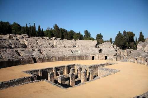 Itálica, una magnífica ciudad romana en Andalucía