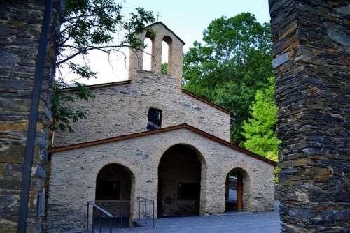 Santuario de Meritxel en Andorra