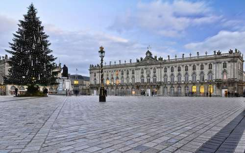 Plaza Stanislas en Nancy
