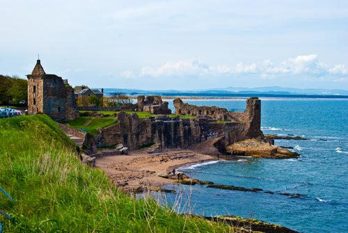St Andrews en Escocia, escenario de cine y de romances