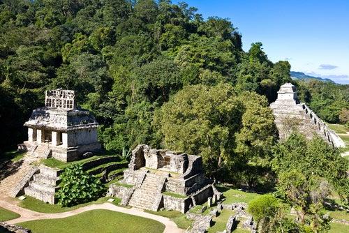 Palenque en México